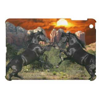 Fantasy Horses: Black Magic iPad Mini Covers