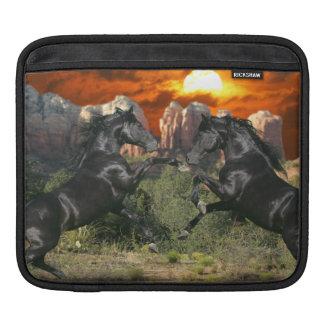 Fantasy Horses: Black Magic Sleeve For iPads