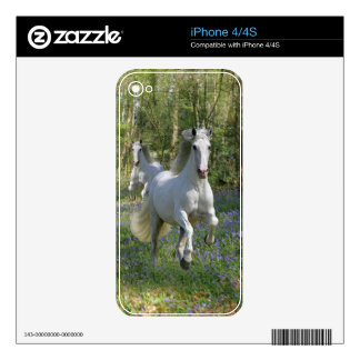 Fantasy Horses: Bluebell Wood Decals For iPhone 4S