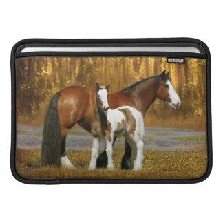 Fantasy Horses: Mare & Foal Sleeve For MacBook Air