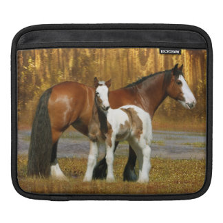 Fantasy Horses: Mare & Foal Sleeves For iPads