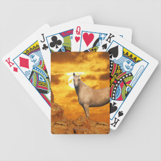 Fantasy Horses: Mountain Bicycle Playing Cards