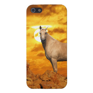 Fantasy Horses: Mountain Case For iPhone SE/5/5s