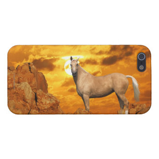 Fantasy Horses: Mountain Cover For iPhone SE/5/5s