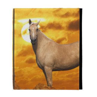 Fantasy Horses: Mountain iPad Folio Cover