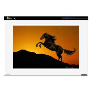 "Fantasy Horses: Mountain Sunset 15"" Laptop Skins"