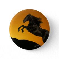 Fantasy Horses: Mountain Sunset Button