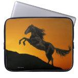 Fantasy Horses: Mountain Sunset Computer Sleeve