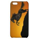 Fantasy Horses: Mountain Sunset iPhone 5C Cases