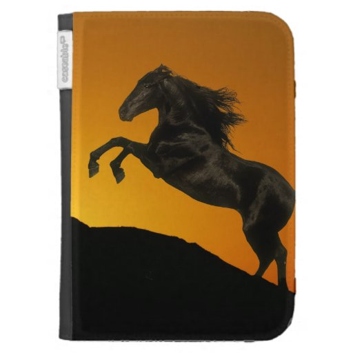 Fantasy Horses: Mountain Sunset Kindle 3G Cover