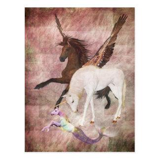 Fantasy Horses Postcards