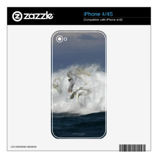 Fantasy Horses: Sea Decals For The iPhone 4S