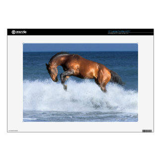 """Fantasy Horses: Selle Francais & Sea Decals For 15"""" Laptops"""