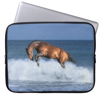 Fantasy Horses: Selle Francais & Sea Laptop Sleeve