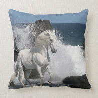 Fantasy Horses: Southern Seas Pillow