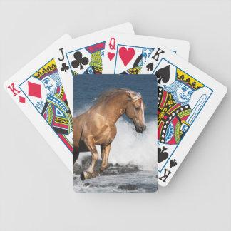 Fantasy Horses: Summer Splash Bicycle Playing Cards