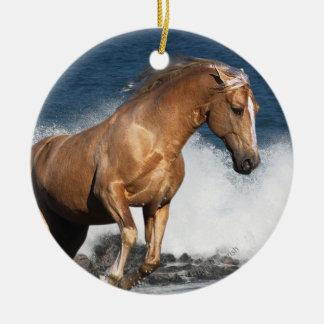 Fantasy Horses: Summer Splash Ceramic Ornament