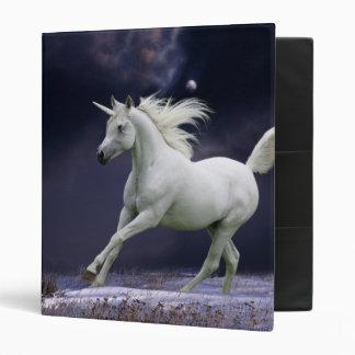Fantasy Horses: Unicorn 3 Ring Binder