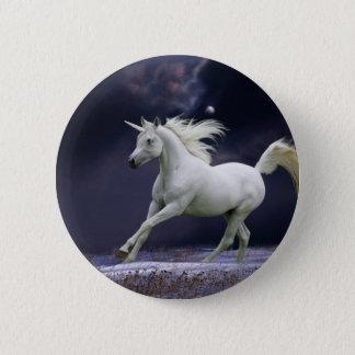 Fantasy Horses: Unicorn Button