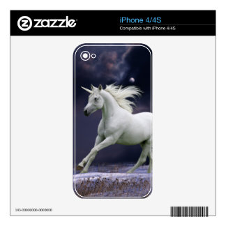 Fantasy Horses: Unicorn Decals For iPhone 4