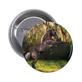 Fantasy Horses: Warrior Prince 2 Inch Round Button