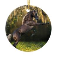 Fantasy Horses: Warrior Prince Christmas Tree Ornament