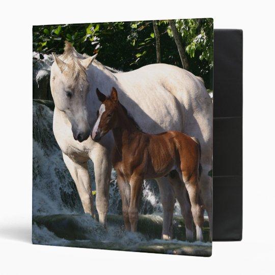 Fantasy Horses: Waterfall Binder