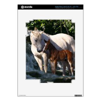Fantasy Horses: Waterfall iPad 3 Decals