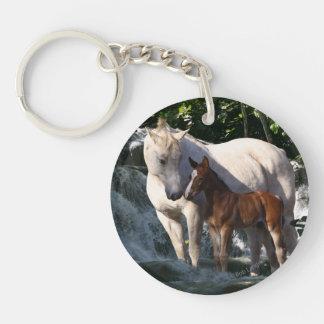 Fantasy Horses: Waterfall Keychain