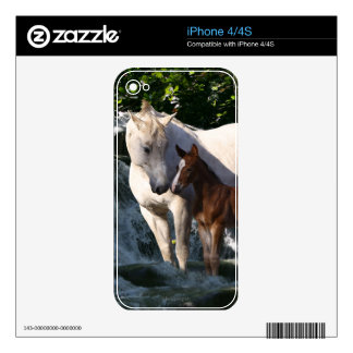 Fantasy Horses: Waterfall Skins For iPhone 4S