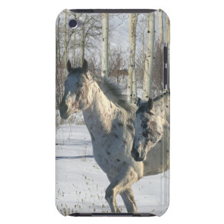 Fantasy Horses: Winter Wonderland Barely There iPod Cases