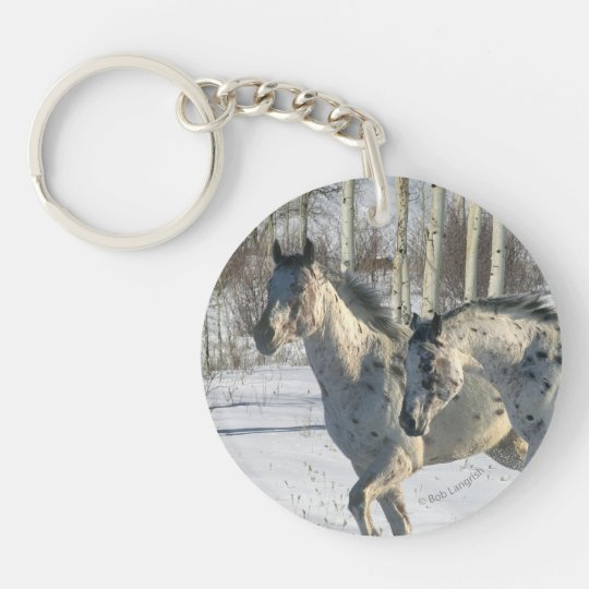 Fantasy Horses: Winter Wonderland Keychain