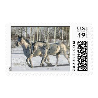 Fantasy Horses: Winter Wonderland Postage