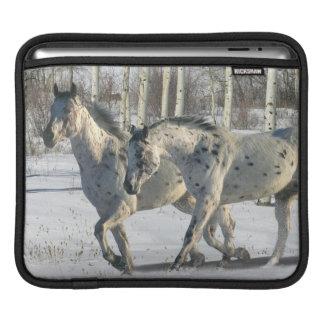 Fantasy Horses: Winter Wonderland Sleeve For iPads
