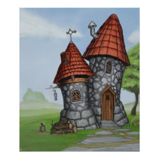 fantasy house posters