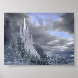 Fantasy Ice Castle Print