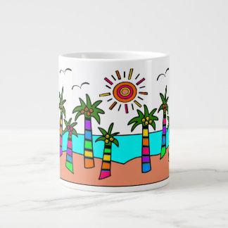 FANTASY ISLAND GIANT COFFEE MUG