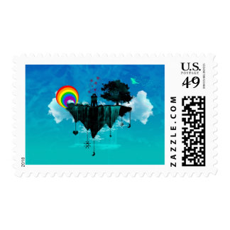 Fantasy Island Stamp