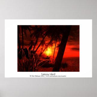 Fantasy Island - The Beach Posters