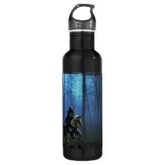 Fantasy Knight 'MidKnight Ride' Water Bottle