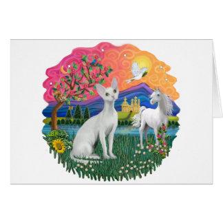 Fantasy Land (ff) - Devonshire Rex cat Card