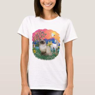 Fantasy Land (ff) - Himilayan Cat T-Shirt