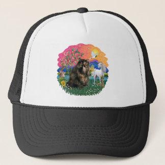 Fantasy Land (ff) - Persian Tortie cat 18 Trucker Hat