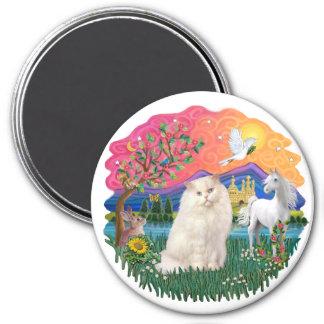 Fantasy Land (ff) - Persian (white) Magnet