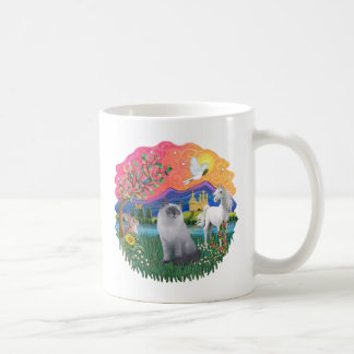 Fantasy Land (ff) - Ragdoll Cat (blue cream) Coffee Mug