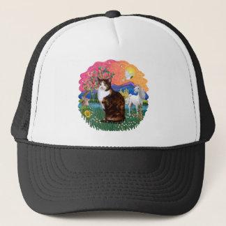 Fantasy Land (ff) - Tortie Calico cat Trucker Hat
