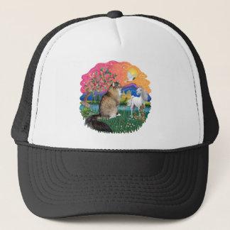 Fantasy Land (Fff) - Maine Coon 44 (tabby) Trucker Hat