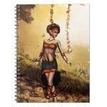 Fantasy Land Spiral Notebooks