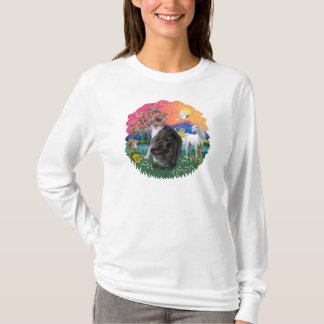 Fantasy Land - Tabby and White cat (AmSH) T-Shirt