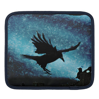 Fantasy Landing Raven Crow Artwork Sleeve For iPads